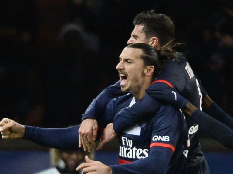 Zlatan Ibrahimovic scored again for PSG