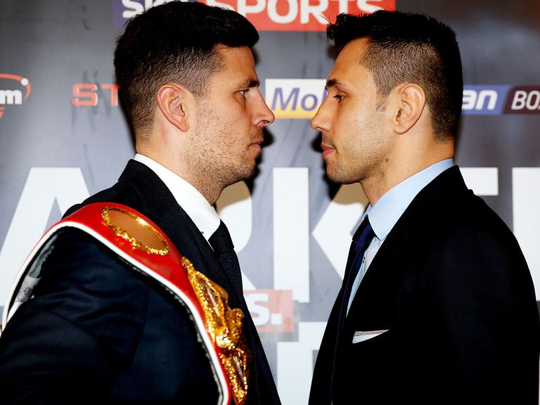 Darren Barker defends his IBF belt against Felix Sturm this Saturday