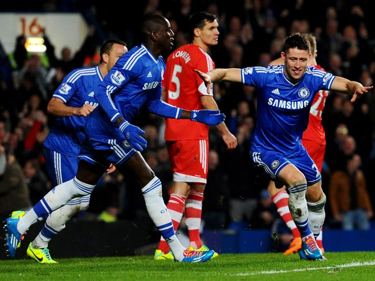 Chelsea battled to a 3-1 victory over Southampton.