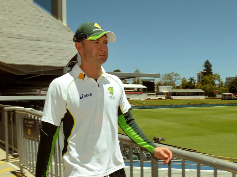 Michael Clarke: Ready to win his 100th Test cap