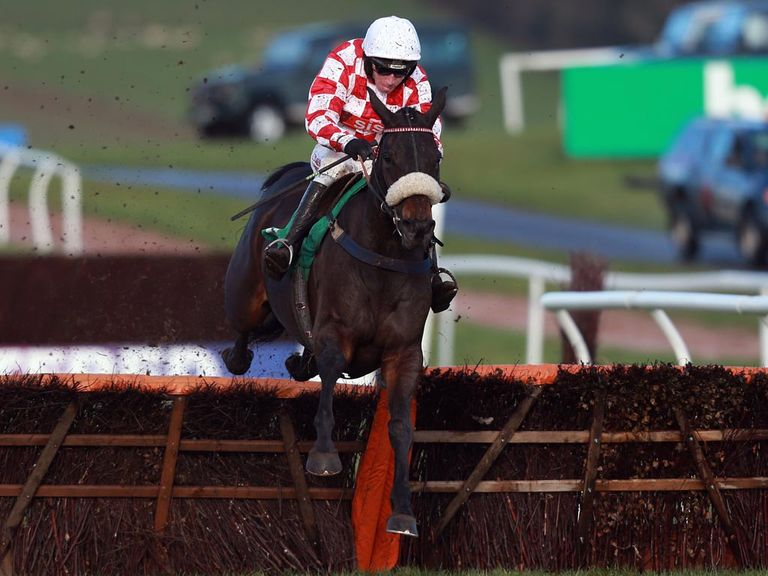 Deputy Dan jumps the last en-route to victory at Chepstow
