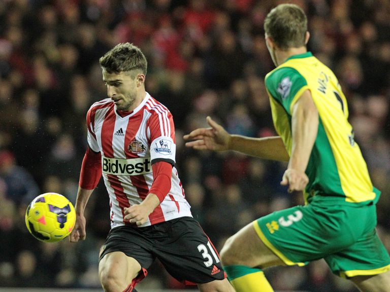 Fabio Borini: Takes on Norwich's Steven Whittaker on Saturday