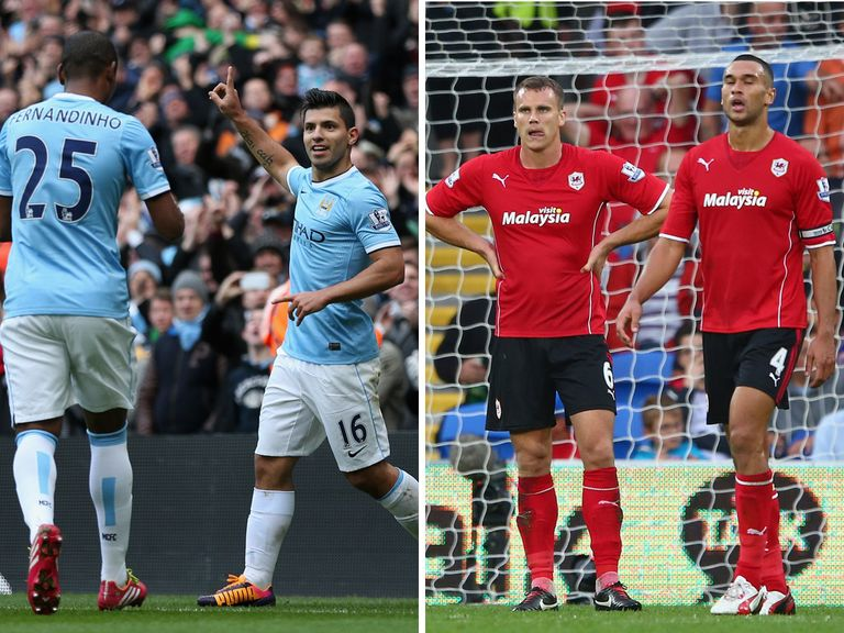 We predict contrating fortunes for Man City and Cardiff