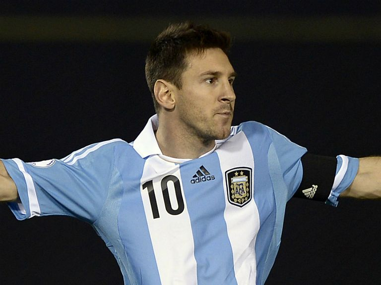 Lionel Messi: The main man for Argentina