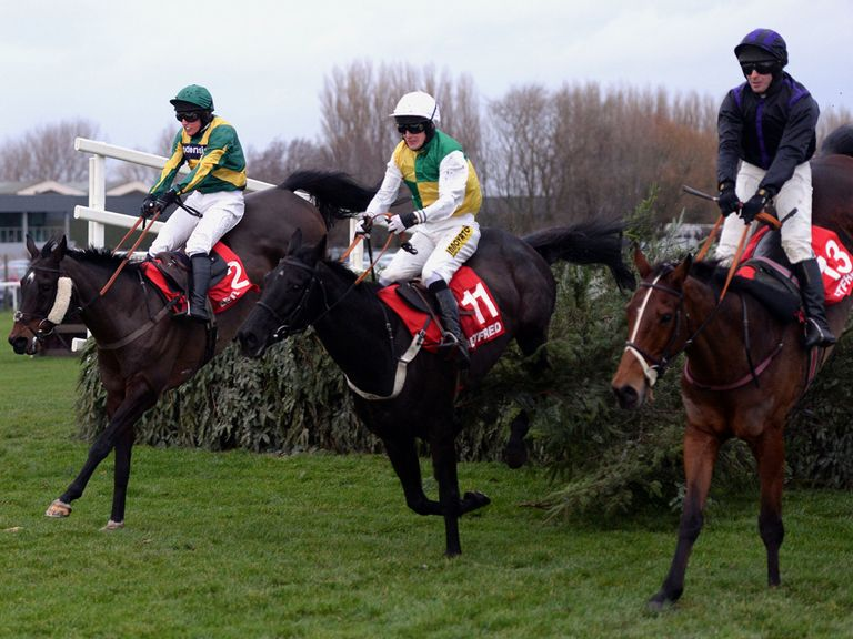 Gansey (c): On his way to a big run at Aintree last time out