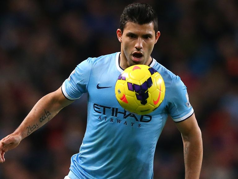 Sergio Aguero: Injury blow for Manchester City