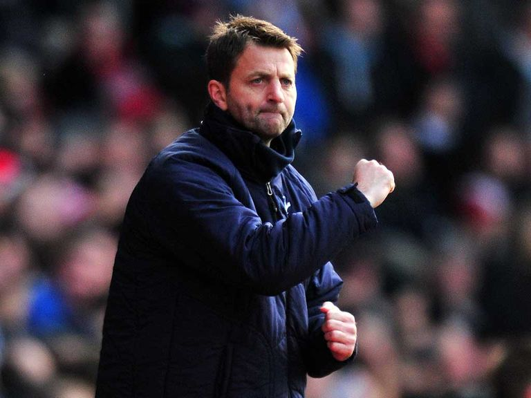 Sherwood: Appointed Spurs head coach