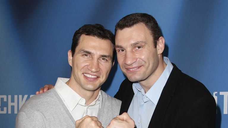 The Klitschko brothers: Have dominated the heavyweight division
