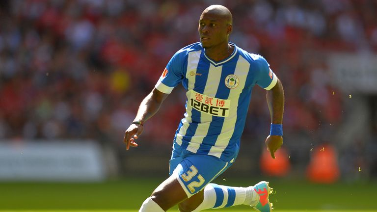 Marc-Antoine Fortune: Made the difference for Wigan against Bournemouth