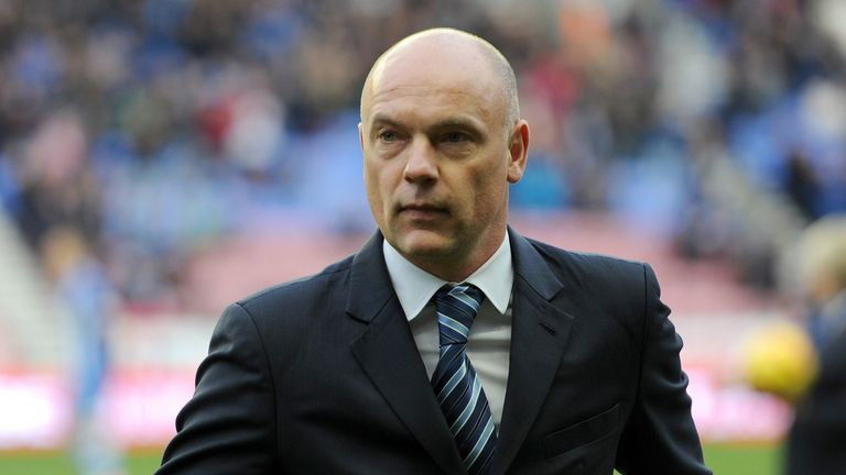 Sign of the times: Wigan have injuries and money, so Rosler will be busy during the window, says Beags