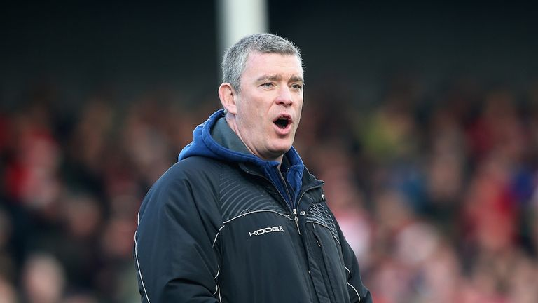 Dean Ryan: Enjoying his chance to coach Barbarians