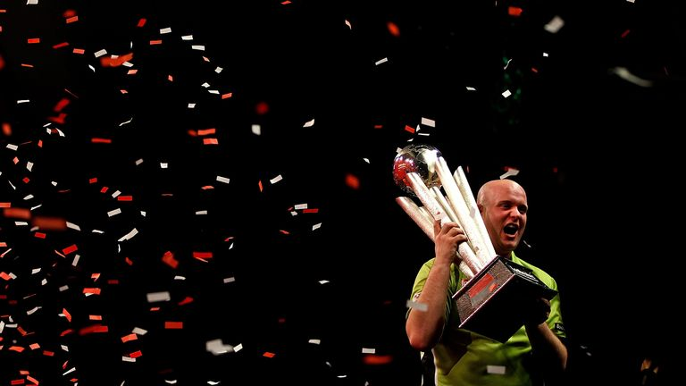 Van Gerwen: expect fireworks when he faces Taylor in the Premier League