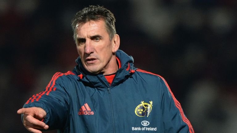 Rob Penney: The Munster head coach takes his side to Parc y Scarlets