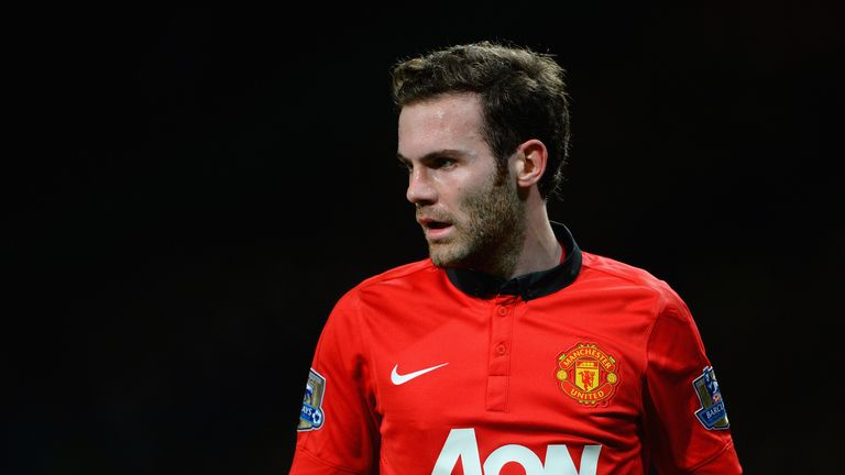 Mata: swapped London for Manchester at the weekend