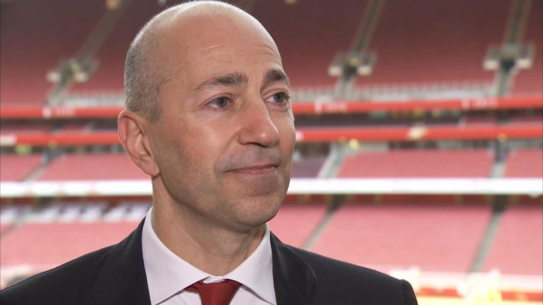 Ivan Gazidis: Arsenal chief executive welcomes FA Cup success
