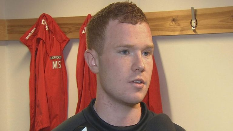 Adam Campbell: Keen to impress against the Hoops