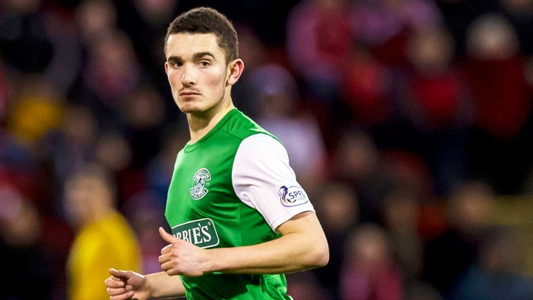 Alex Harris: Signed new Hibs deal