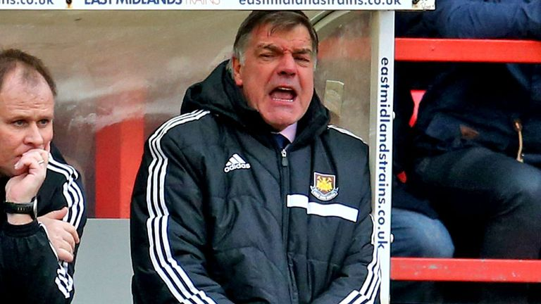Sam Allardyce: Pleased with owners' backing