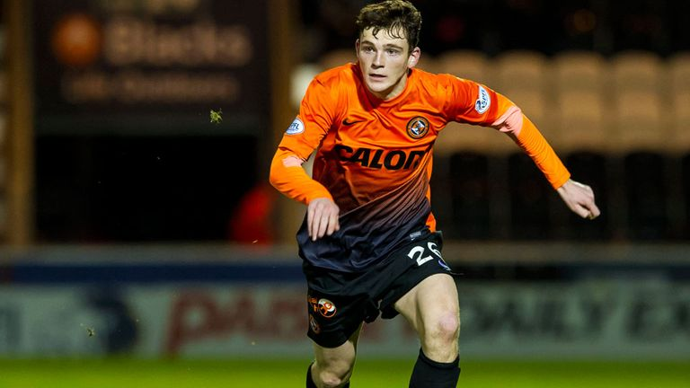 Andrew Robertson: Won't be leaving Dundee United on the cheap