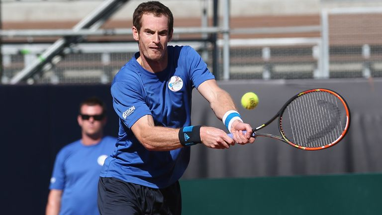 Andy Murray: Could play three games in as many days in San Diego
