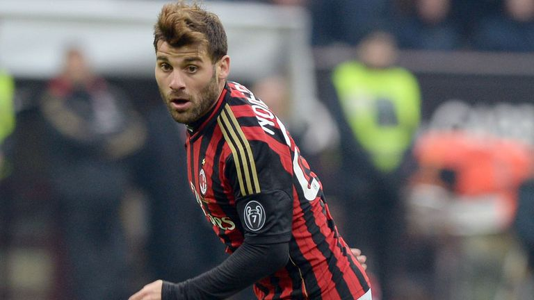 Antonio Nocerino: AC Milan midfielder has joined West Ham on loan
