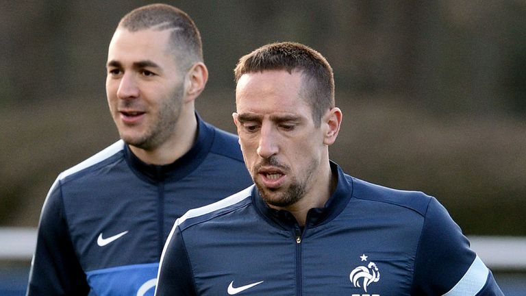Karim Benzema and Franck Ribery: Have been acquitted