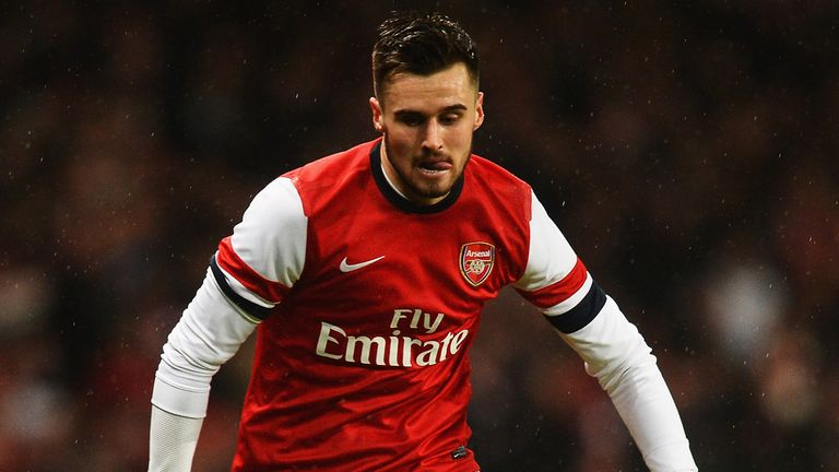 Carl Jenkinson: Enjoyed a rare start against Coventry
