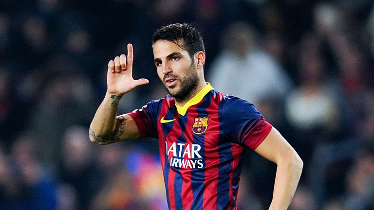 Cesc Fabregas: Flattered by United interest
