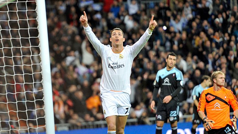 Cristiano Ronaldo: Has dedicated his goals to the late Eusebio