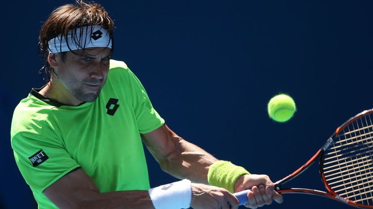 David Ferrer: made to battle in Buenos Aires
