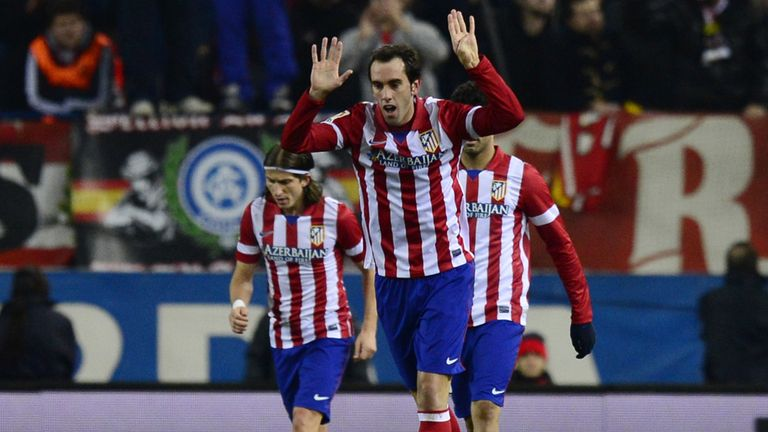 Diego Godin: Atletico Madrid defender admits Chelsea tie will be tough