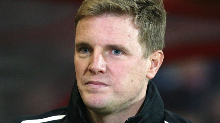 Eddie Howe: Pleased with the late win