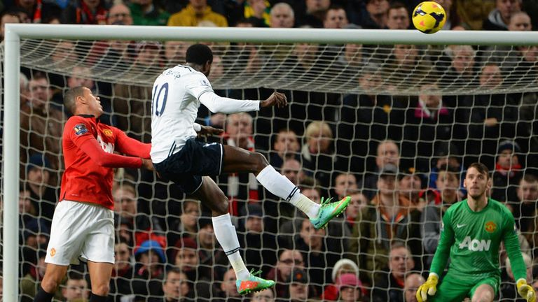 Emmanuel Adebayor: Scores at Old Trafford on New Year's Day