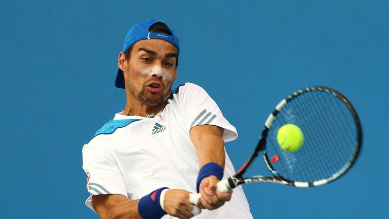Tough task: Fognini is a fearsome opponent on clay, says Barry