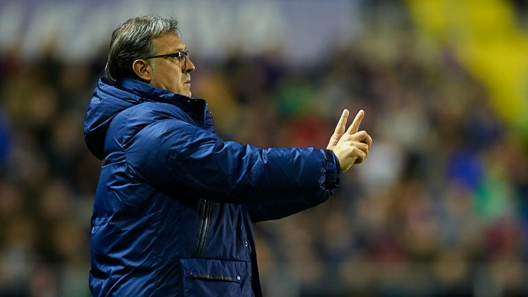 Tata Martino: Admits there are no guarantees he will stay at Barcelona next season