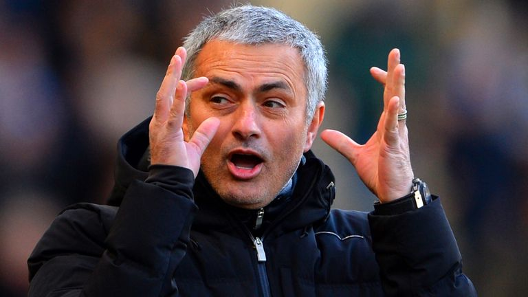 Mourinho: has been trying to put pressure on rivals, but has squad to win league, says Jamie