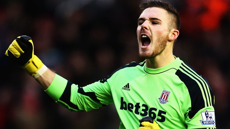 Jack Butland: Made four appearances for Stoke last month