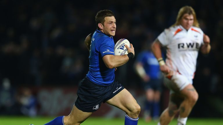 Jimmy Gopperth: in fine form for Leinster