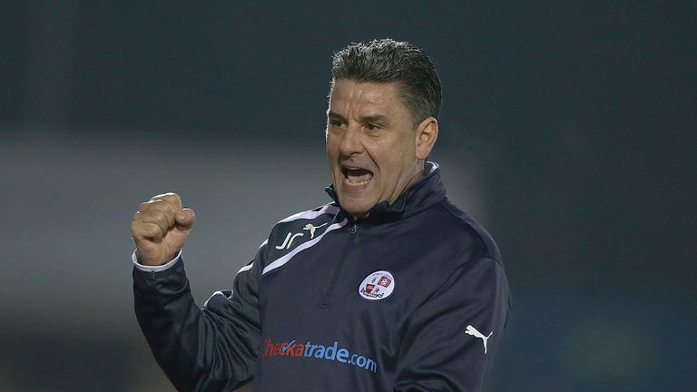 John Gregory: New two-year deal for Crawley manager