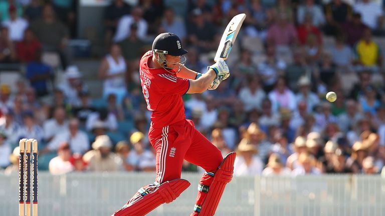 Jos Buttler: Top-scored for England with 61 from 60 deliveries