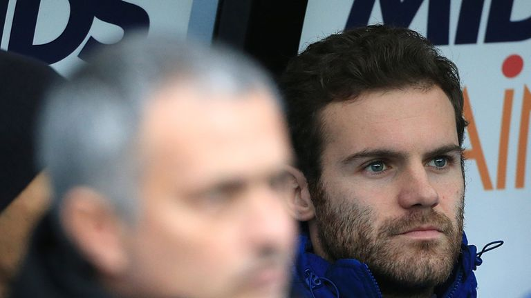 Out-of-favour midfielder Juan Mata could be set for Chelsea exit