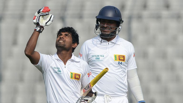 Kaushal Silva: Was dropped twice before registering his maiden Test hundred