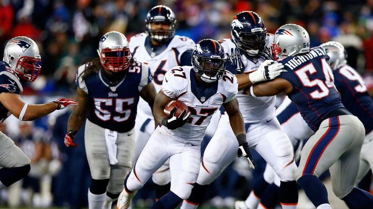 Knowshon Moreno: Denver Broncos' star running back will be a key component in Sunday's match up