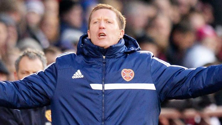 Gary Locke: Superb spirit in the Hearts camp