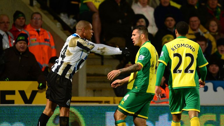 Loic Remy and Bradley Johnson were sent off for this off-the-ball incident on Tuesday night