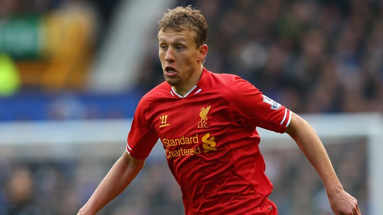 Lucas Leiva: Liverpool midfielder would welcome bid for Nigel de Jong
