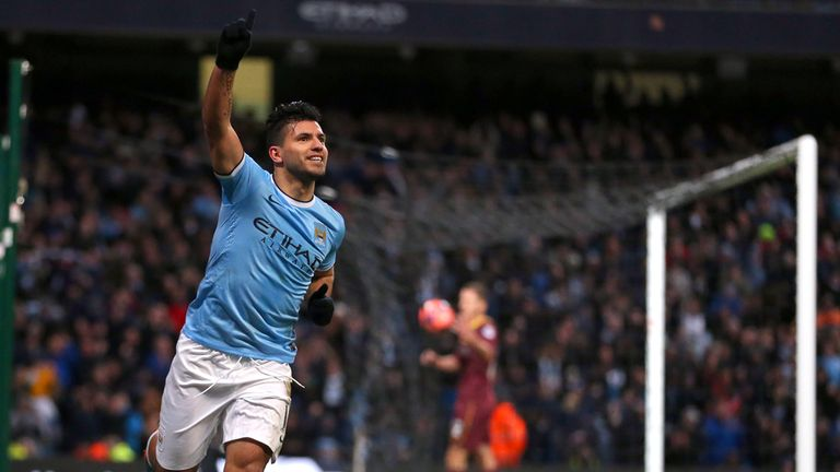 Sergio Aguero: Striker hopes Man City's title experience will be crucial