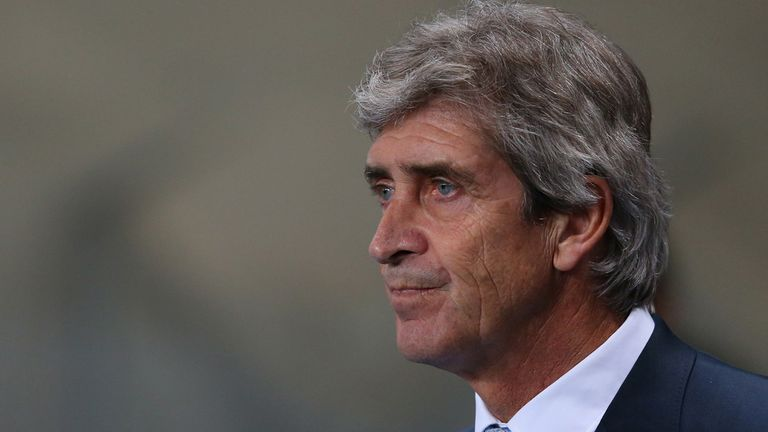 Manuel Pellegrini: Manchester City boss has been taken by surprise