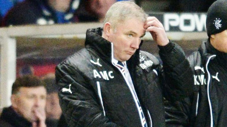 Ally McCoist: Rangers manager knows his team's defending must improve