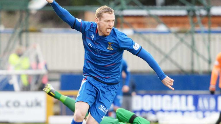Billy McKay: Inverness striker has no plans to leave the club